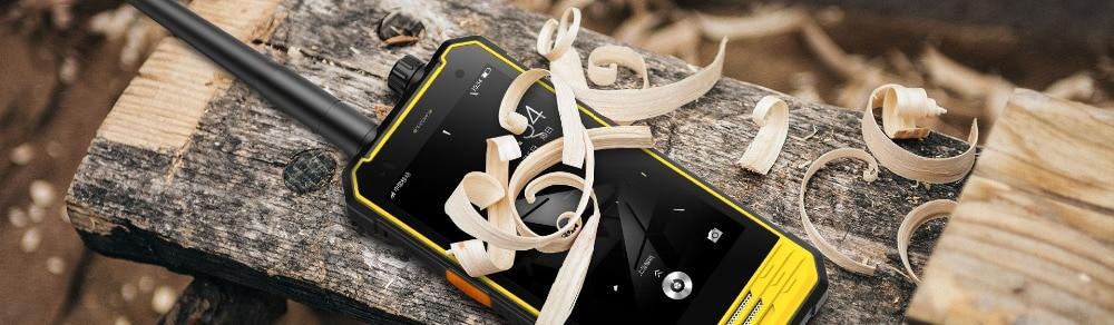 Nomu T18 IP68 Waterproof Smartphone MTK6737T Quad Core 5200mAh Shockproof Cell Phone 3GB RAM 32GB ROM Rugged phone Walkie Talkie