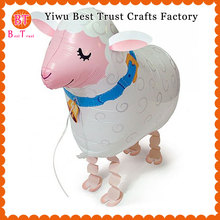 Free Shipping 1000pcs/lot walking sheep balloon helium ballon animals Pet balls for Birthday party decoration