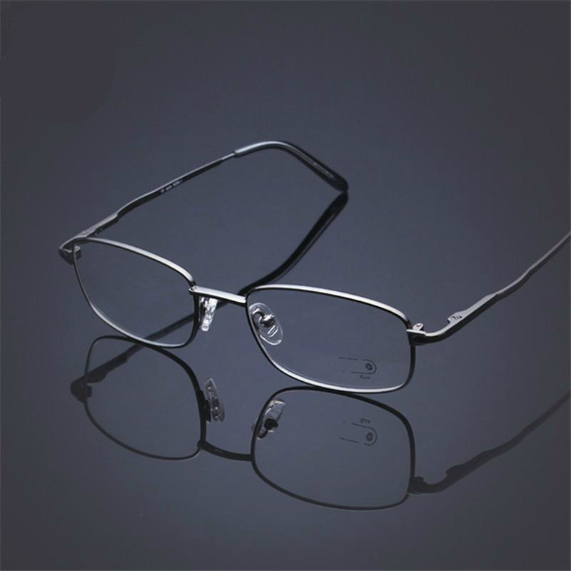 Viodream B Titanium Full Frame Glasses Eyeglasses Frames Ultra Light Classic High end business Can match