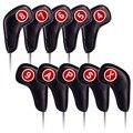 Artesano Golf hierro cubierta ambos RH y LH cubierta de la cabeza de Club de Golf de hierro cubre cuñas 4.5.6.7.8.9.P.S.A.X envío gratis