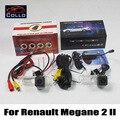 Para Renault Megane 2 II / carro CCD câmara de visão traseira + Laser luz de nevoeiro traseira / 2 em 1 sistema de segurança Collision Avoidance ativo / DIY