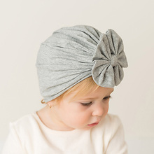 2019 Newborn Baby Headscarf Young Childrens Wear Boys and Girls Cotton Blend Hat Cute Soft Bohemian Indian