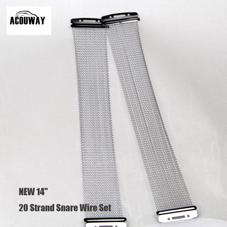 ᐂAcouway standard 14 20 Strand Snare Wire Set for 14 Snare Drum ...