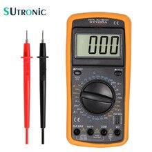 DT9205A Professional Digital Multimeter Electric Handheld  Ammeter Voltmeter Resistance Capacitance hFE Tester AC DC LCD