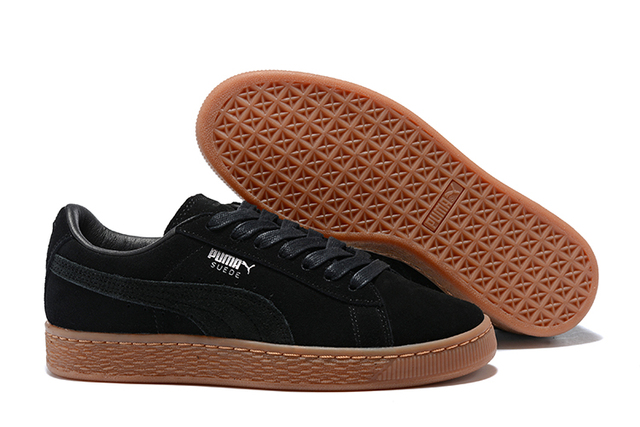 best service 384d2 bb2cc US $62.12 5% OFF|Original PUMA Unisex Suede Classic CITI Heritage Basket  Classic Rudolf Dassler Sneakers Badminton Shoes Size36 44-in Badminton  Shoes ...