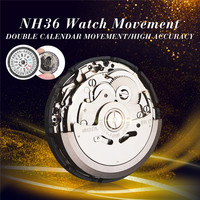 Automatic Watch Movement Mens Parts Mechanical Watch Movement NH36 Movement Watch Replace Accessories