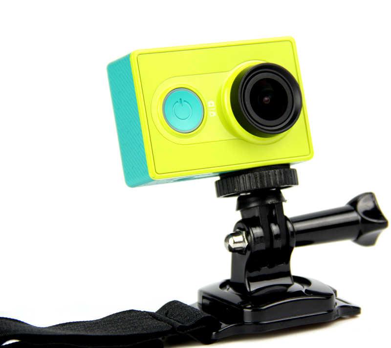 SnowHu สำหรับ MINI ขาตั้งกล้องอะแดปเตอร์/อะแดปเตอร์สกรูสำหรับ GoPro HERO 8 7 6 5 4 SJCAM สำหรับ Xiaomi yi 4K สำหรับ SJCAM Yi กล้อง GP60B
