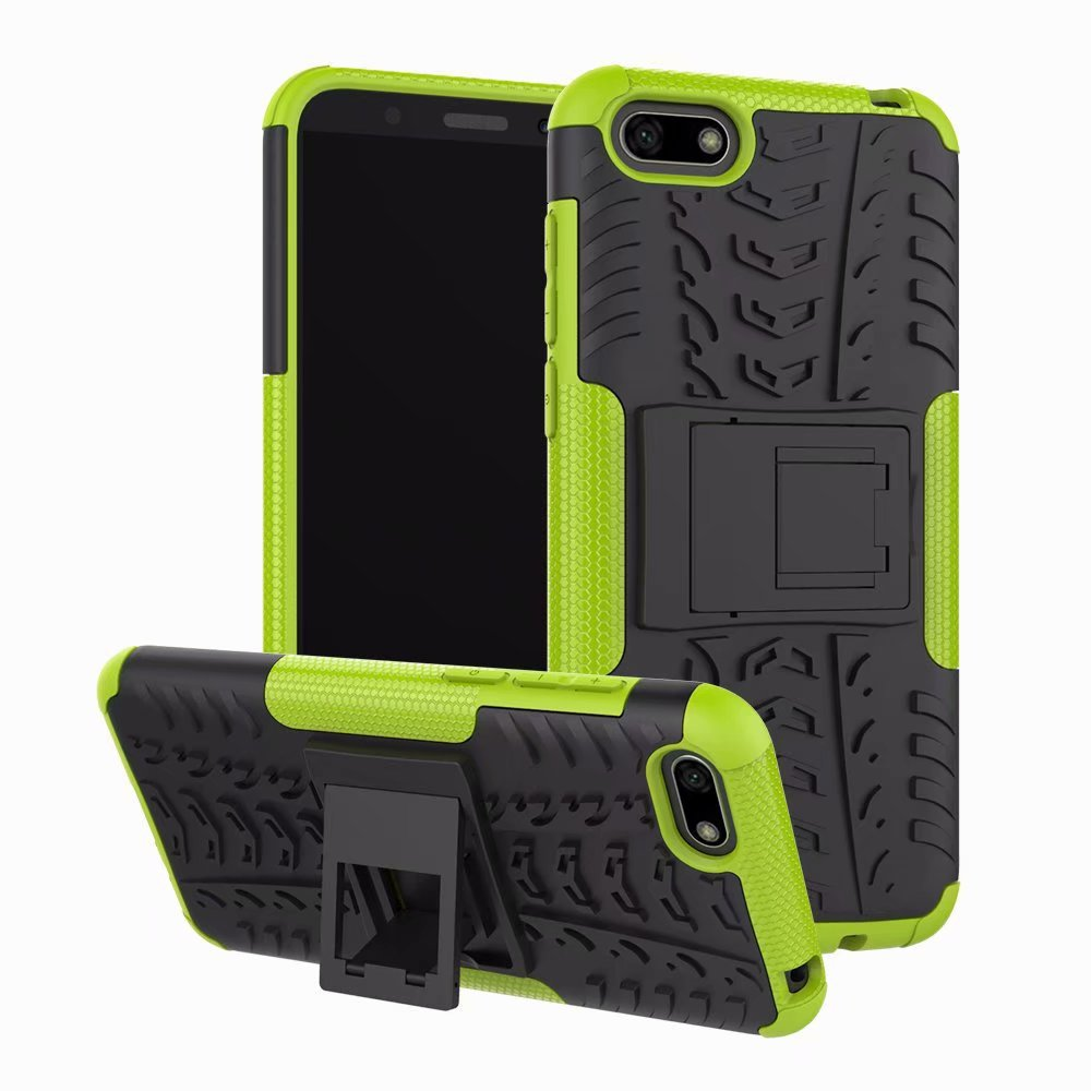 Rugged Cover <font><b>Case</b></font> for <font><b>Huawei</b></font> <font><b>Y5</b></font> Prime <font><b>2018</b></font> <font><b>Case</b></font> <font><b>Huawei</b></font> <font><b>Y5</b></font> Lite <font><b>2018</b></font> DRA-LX5 Armor Bumper Shock Proof Hard <font><b>Silicone</b></font> Phone <font><b>Case</b></font> image