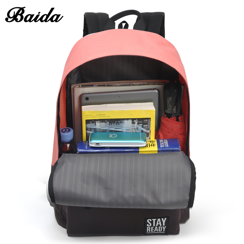 b141dd2454 Fashion School Backpack Women Children Schoolbag Back Pack Leisure Korean  Ladies Knapsack Laptop Travel Bags for ...