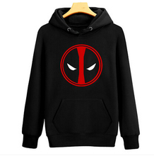 halloween costume for men deadpool long sleeve cotton autumn cloth Thicken sweater