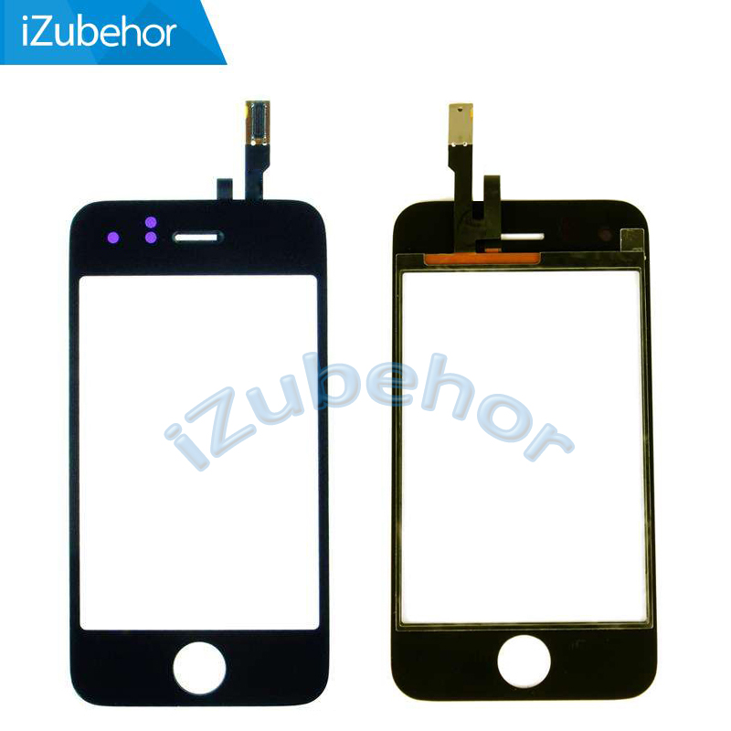 100% Warranty Black Touch Screen Digitizer For Iphone 3g 3gs Touch Sensor Screen Panel By Free Shipping