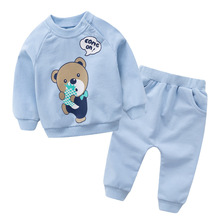 Hot sale Pullover Cotton Baby's Sets Cartoon Baby Boys Girls Clothes F1430-1494