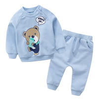 Hot Sale Pullover Cotton Baby S Sets Cartoon Baby Boys Girls Clothes F1430 1494