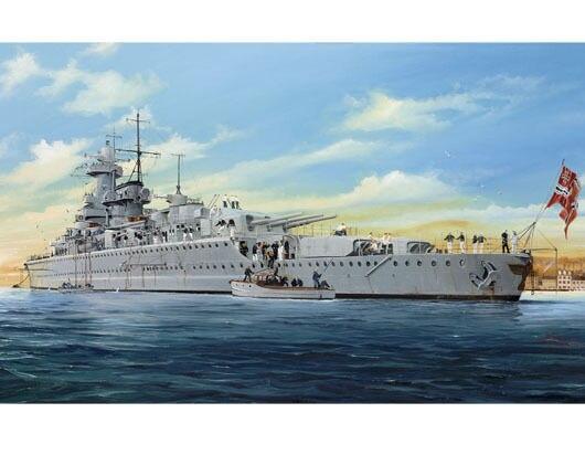 1pcs Action Figures Kids Gift Collection For Trumpeter 05316 1/350 German Admiral Graf Spee Plastic Model Warship Kit trumpeter ships model 05317 world war ii german cruiser admiral hipper