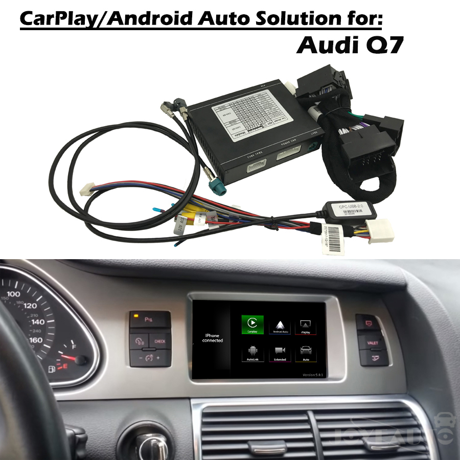 Aftermarket OEM Apple Carplay Android Auto Upgrade Q7 MMI 3G 3G Smart Apple Car Play Box
