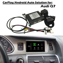 Aftermarket OEM Apple Carplay Android Auto Upgrade Q7 MMI 3g 3g + Smart Apple Car Play коробка с IOS Airplay с Waze Spotify