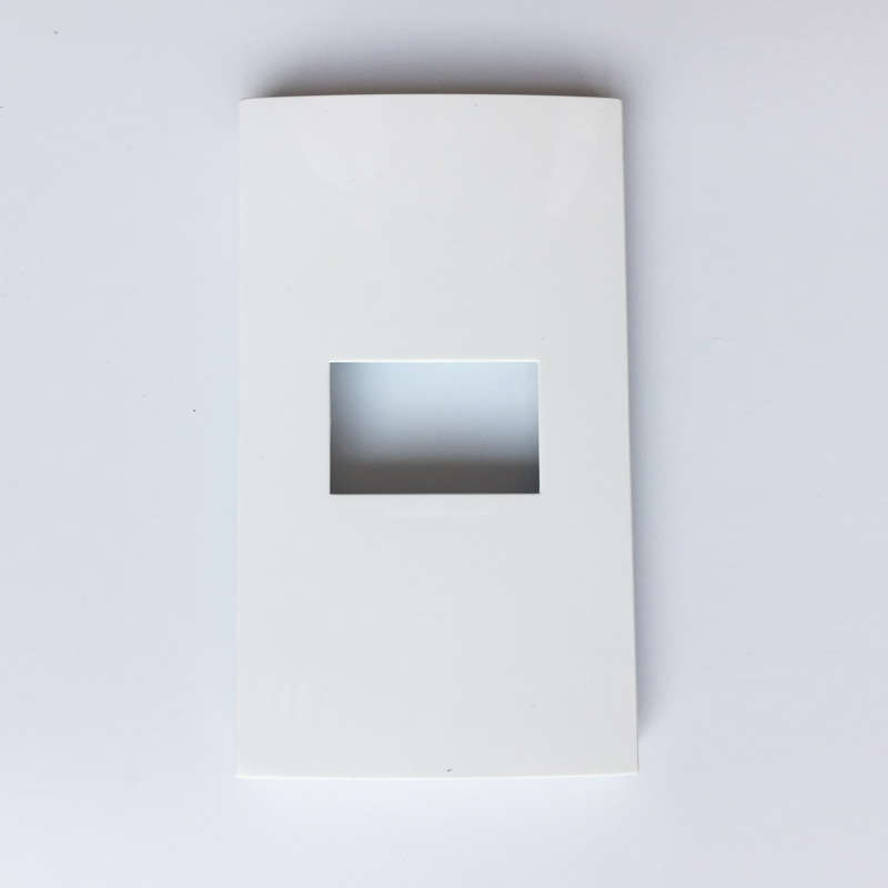 Aliexpress Buy White Color Blank Wall Outlet Rectangle Panel