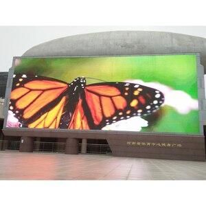 Image 1 - P10mm 320x160 مللي متر led وحدة عرض كبير جدار الفيديو SMD3535 لوحات ليد خارجي مقاوم للماء للإعلان