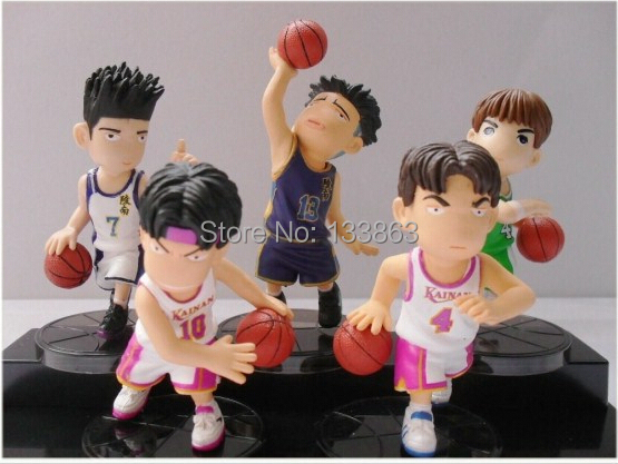 Teenage Toys For Christmas : Wholesale for sets japanese anime slam dunk pvc figure dolls