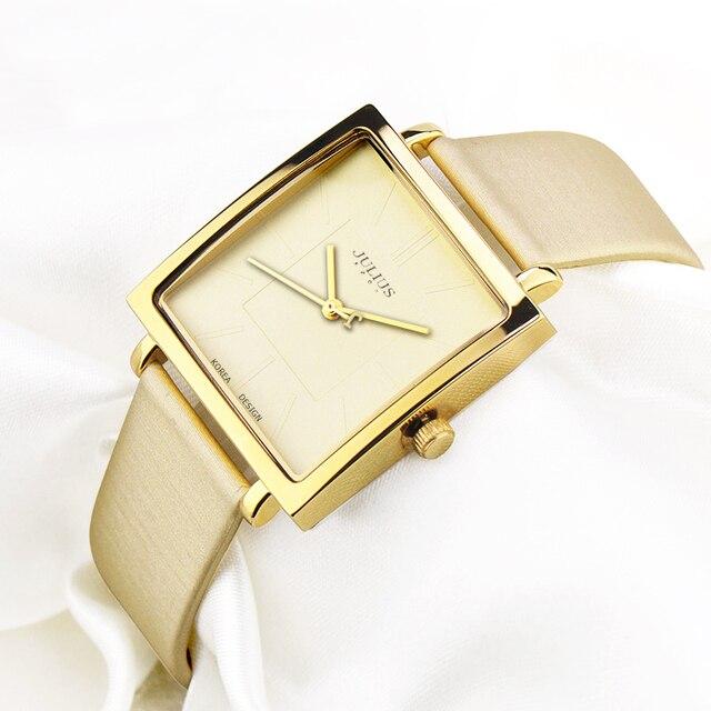 484a7802fe8 Senhora Assistir Japão Relógio De Quartzo Horas Grande Relógio das Mulheres  Fino Vestido Moda Pulseira De