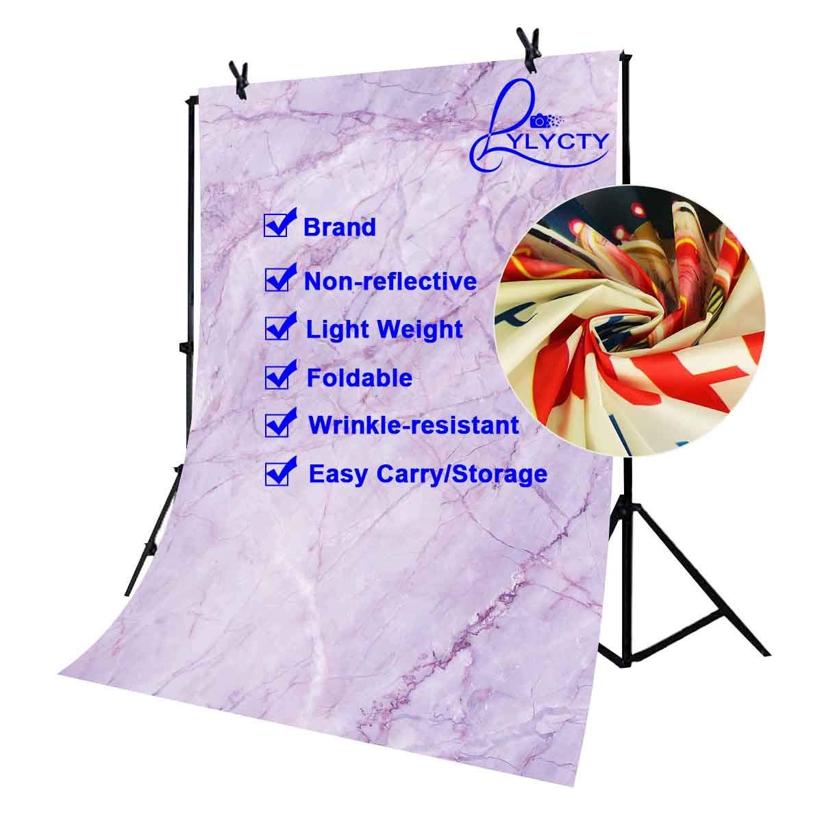 Image 4 - 5x7ft Violet Marble Texture Pattern Backdrop for Photo Shoot Background Photography Studio Props-in Photo Studio Accessories from Consumer Electronics