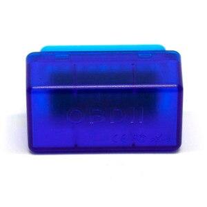 50pcs/lot B02 V2.1 ELM327 Blue