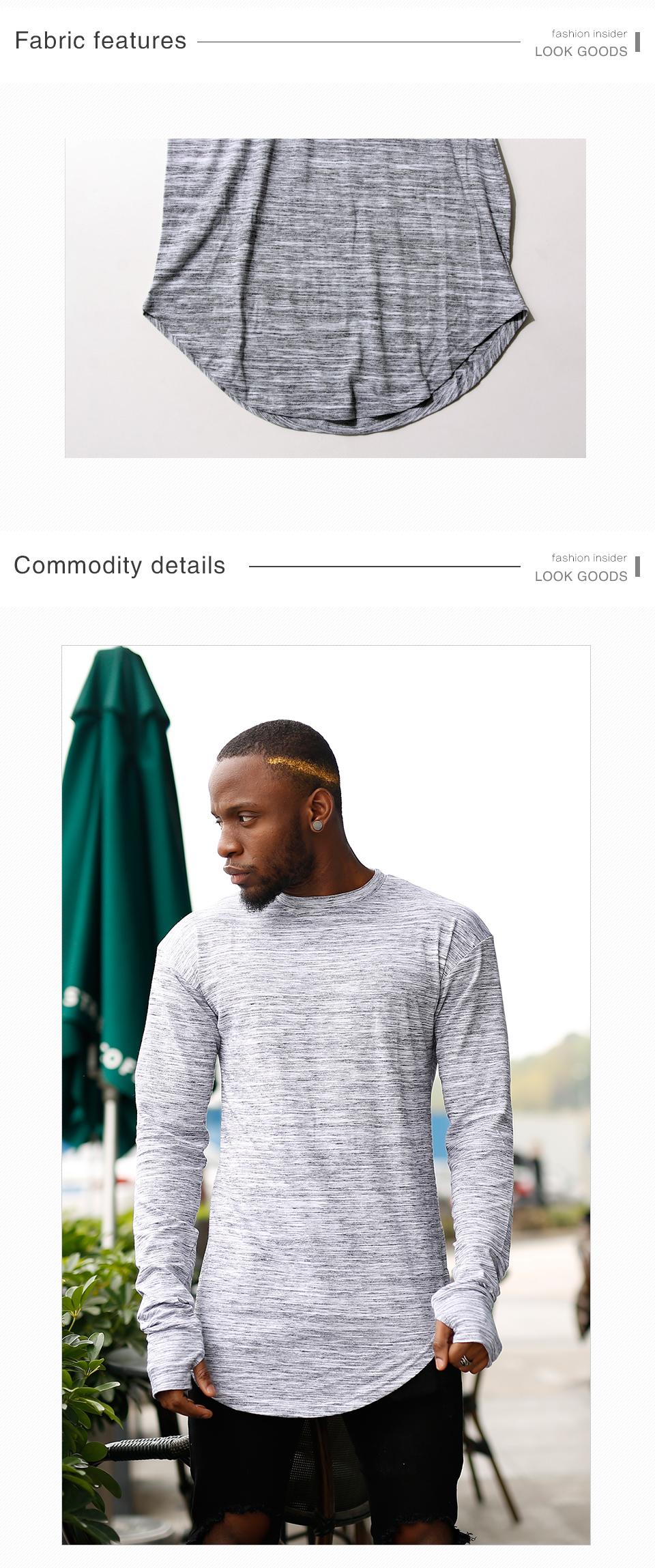 HEYGUYS 2018 estendere hip hop di strada T Shirt del commercio all ... 51f7cd54686
