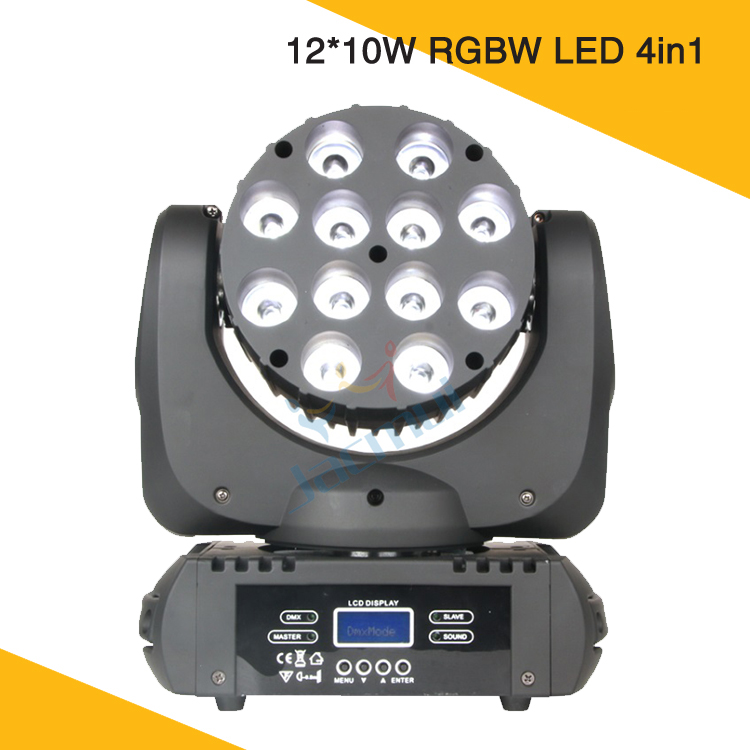 DMX Disco Licht DJ 12*10 W Leier LED Moving Head Strahl Cabeza <font><b>Movil</b></font> Waschen <font><b>Mini</b></font> Beleuchtung Für Party event image