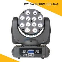 DMX Disco Light DJ 12 * 10W Lyre LED Moving Head Beam Cabeza Movil Wash Mini Lighting For Party Event
