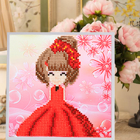 3d Puzzlecute Cartoon Style Wooden Frame Wooden Frame Painting Children Handmade For Kids Girl Learning Education