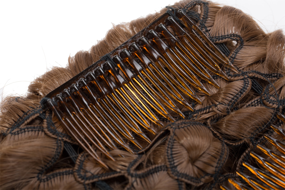HTB1C0jRAiOYBuNjSsD4q6zSkFXax - S-noilite Hair Bun Clip in Hair Extension 2 Plastic Comb Curly Hair Chignon Synthetic Hair Messy Chignon For Women Wedding