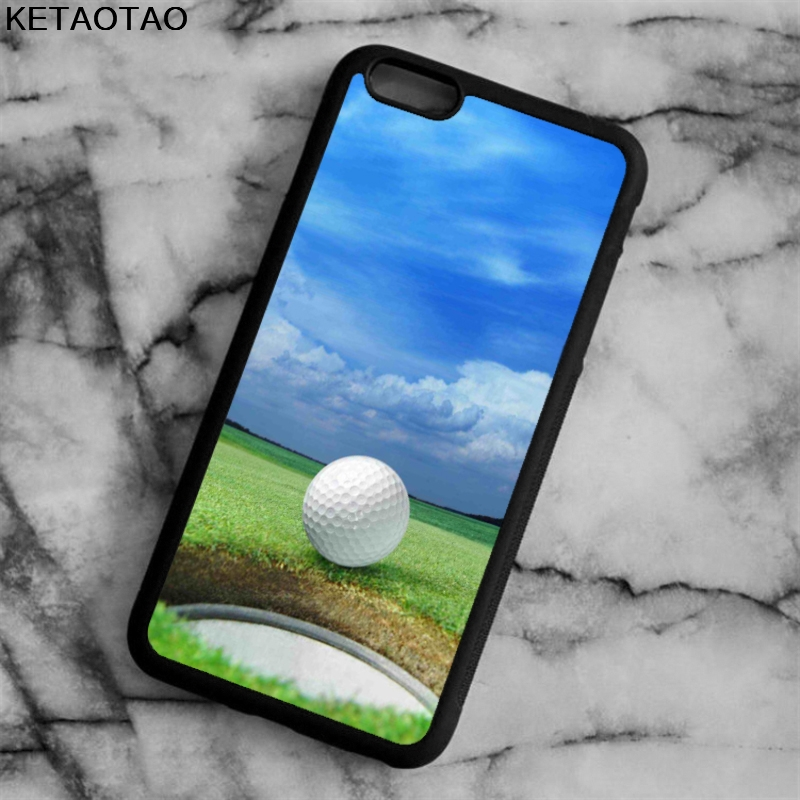 KETAOTAO Golf Ball Lip of Cup Phone Cases for iPhone 4S 5S 6 6S 7 8 X PLUS for Samsung S3 7 8 NOTE Case Soft TPU Rubber Silicone