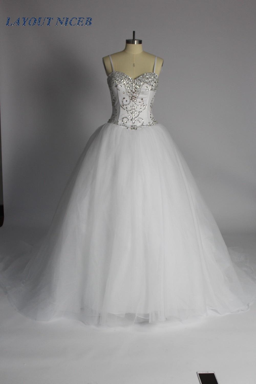 Πριγκίπισσα κρύσταλλο μπάλα φόρεμα - Γαμήλια φορέματα - Φωτογραφία 2