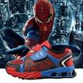 Summer kids sport shoes 2016 primavera hombre araña elástico shoes niños zapatillas de deporte de moda niños de la marca girls shoes runningsshoes