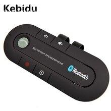 Kebidu Bluetooth 4.1 Multipoint Speakerphone MP3 Speler Bass Stereo Aux Car Kit Speaker Handsfree Muziek Ontvanger Speler