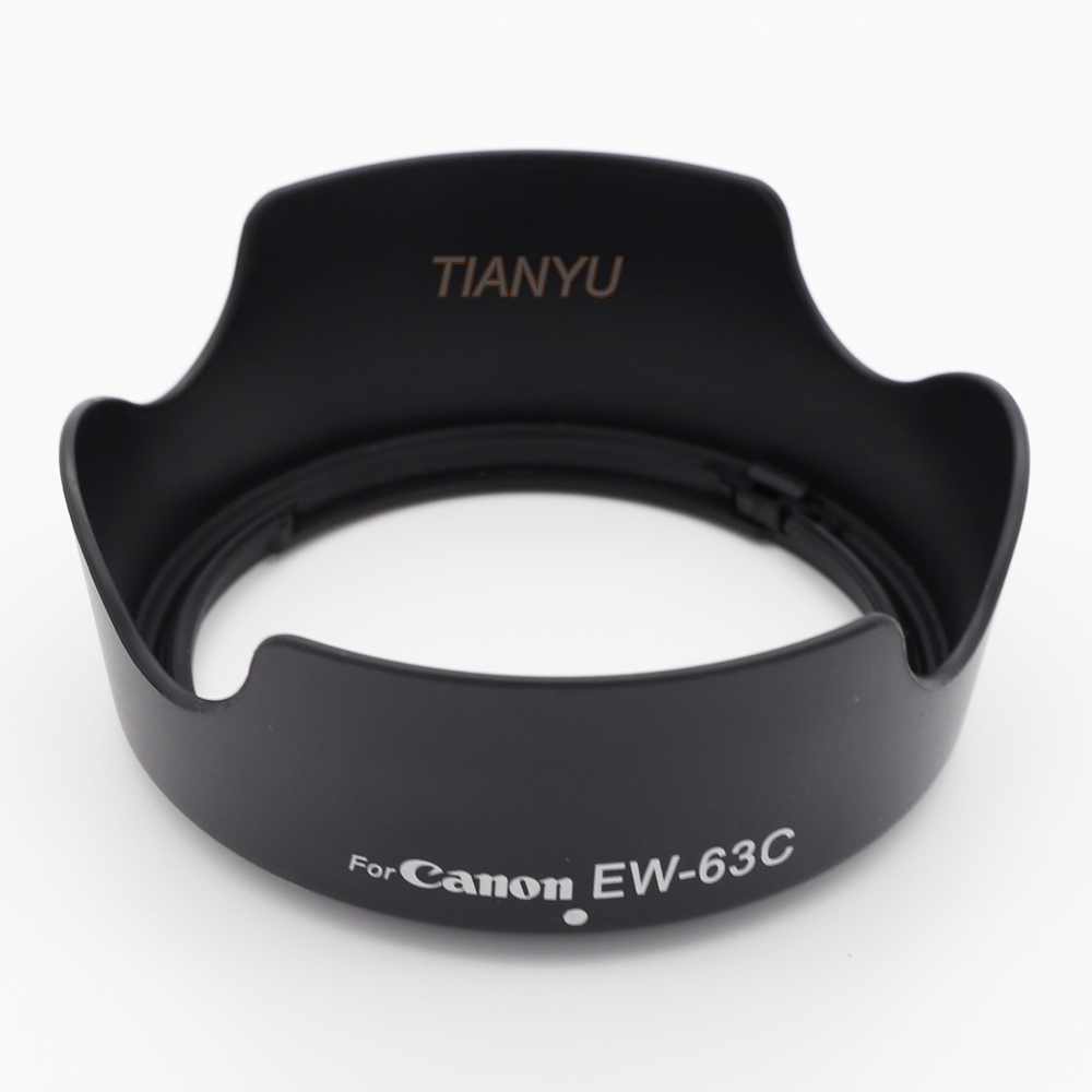 Lens Hood <font><b>EW</b></font>-<font><b>63C</b></font> EW63C for Canon EF-S 18-55mm f/3.5-5.6 IS STM camera lens hood lens protetor <font><b>ew</b></font> <font><b>63c</b></font> image
