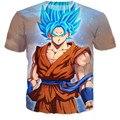 New brand clothing 3d t shirt men women tees anime Dragon Ball Z Goku printed 3d tshirt homme casual t-shirt harajuku tees tops