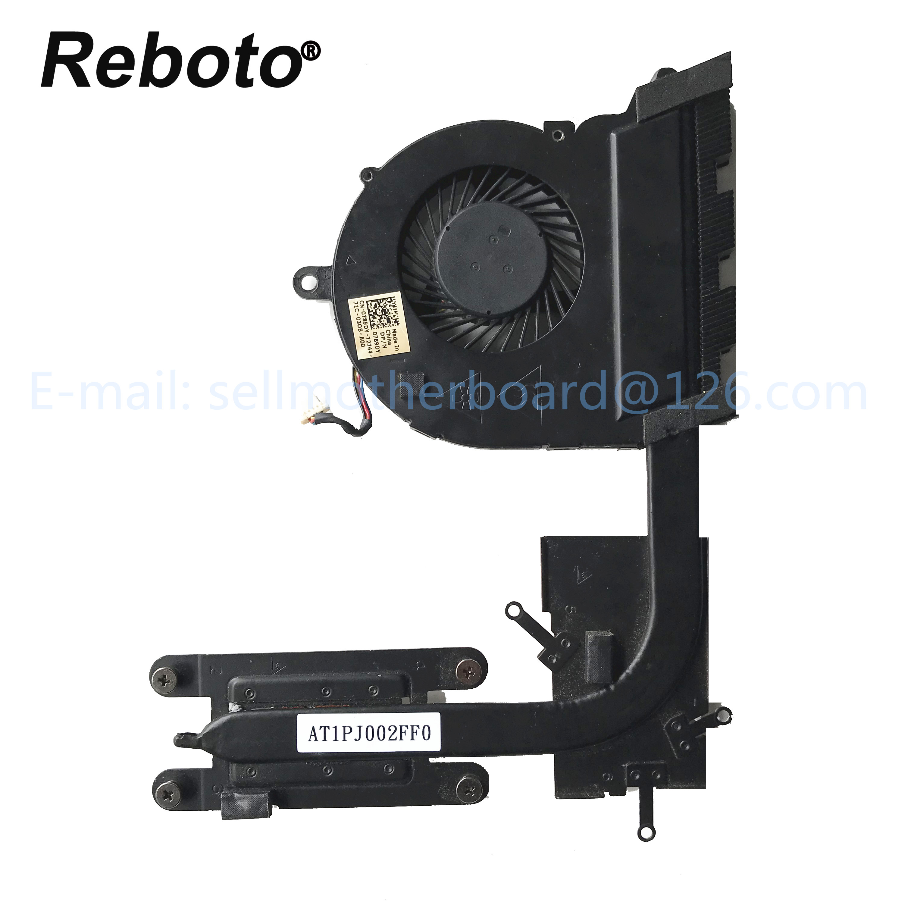 New CPU Fan For Dell Inspiron 15-5565 15-5567 17-5767 Series 0789DY 789DY 4PIN