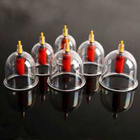 24 Pcs Massage Cans Massager Health Care Cans Opener Family Body Massage Anti Cellulite Vacuum Cupping