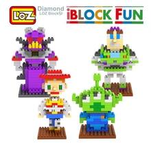 LOZ Toy Story Woody Buzz lightyear Jessie Toy Model action Figure Building Blocks 9+ Gift 3D Model LOZ Block