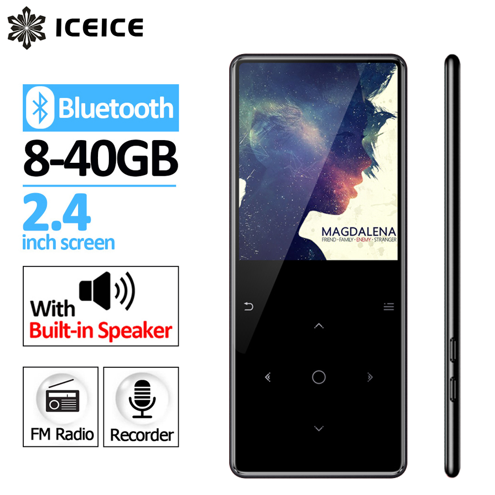 ICEICE C6 Bluetooth 2 4 Screen Touch Keys MP3 Player Bulit in Speaker with FM Radio