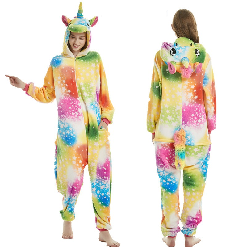 animals-kigurumi-unicorn-costume-adult-girl-kids-unicorn-onesie-flannel-panda-totoro-women-anime-jumpsuit-disguise-onepiece-suit