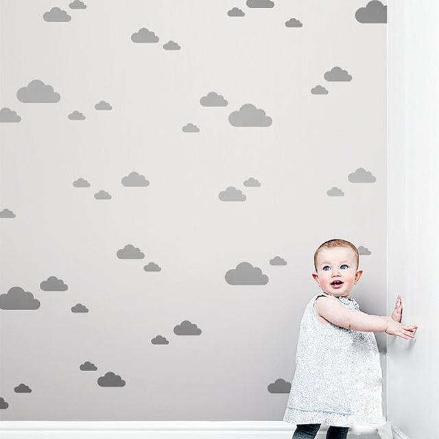 Clouds shape Wall Stickers Decals