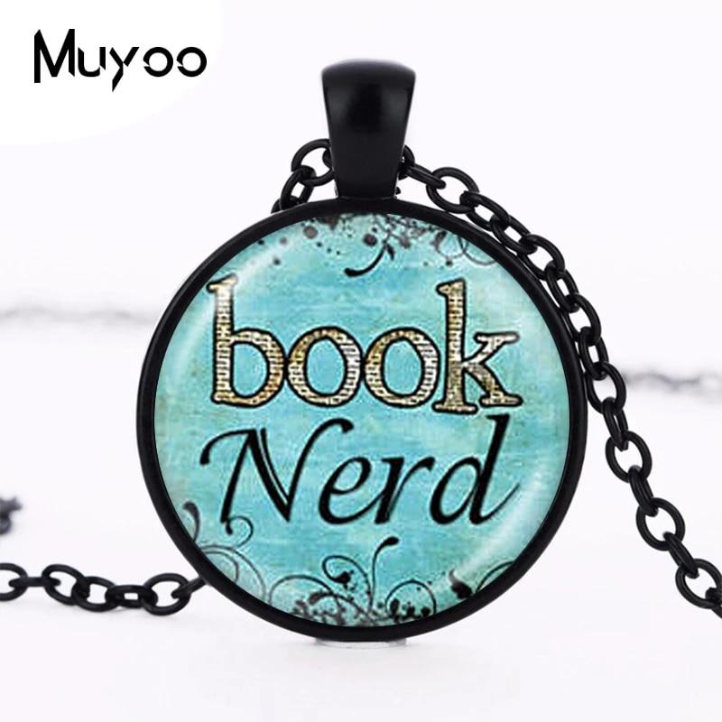 Book Nerd Charm Necklace
