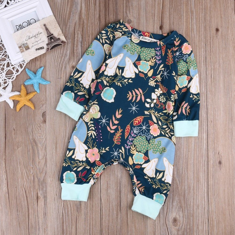 1pc Cute Newborn Baby Boy Girl Clothes Long Sleeve   Romper   Cotton Cute Jumpsuit Cute Baby Girls Outfit