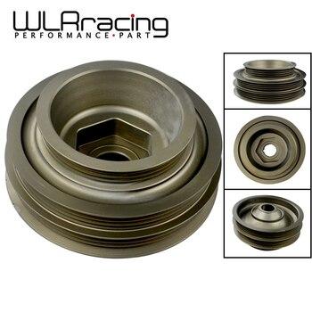 WLR RACING-гоночный свет Вес Алюминиевый шкив коленчатого вала для 99-00 Civic Si 94-01 Integra WLR-CP011