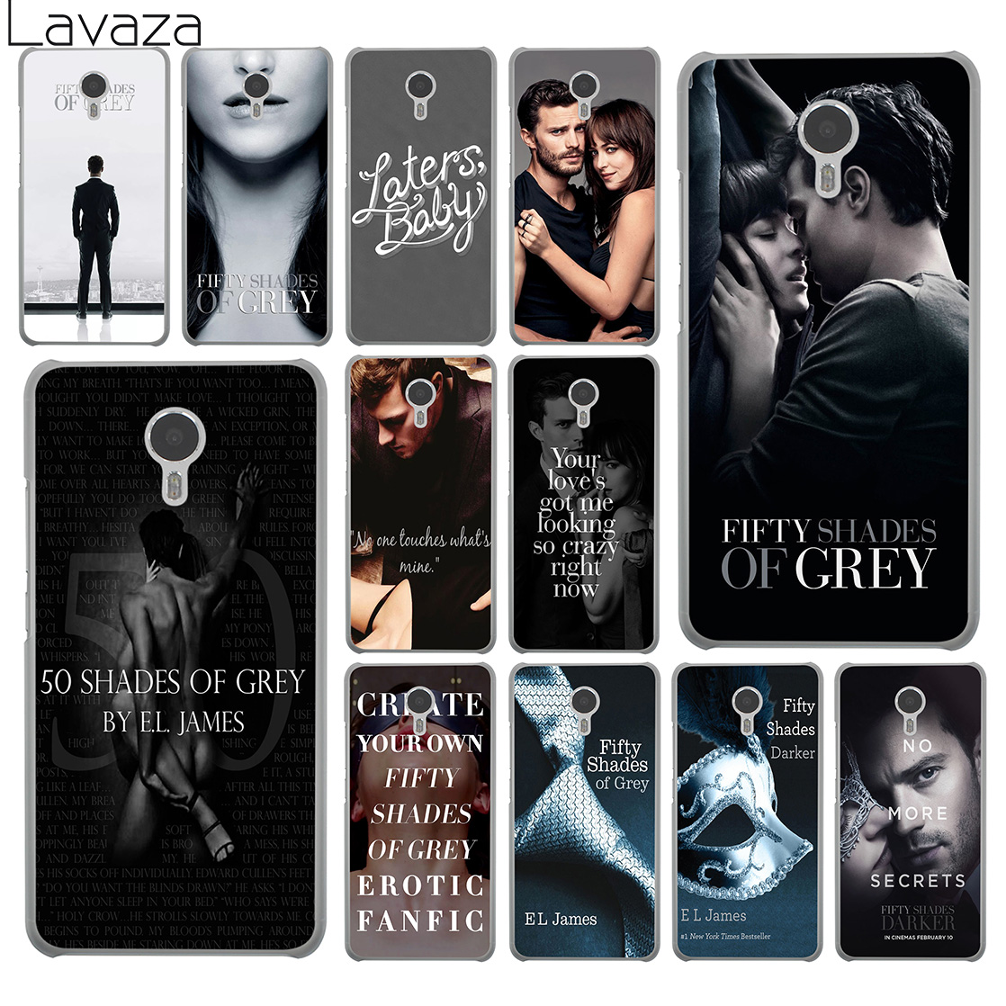 Lavaza Fifty Shades of Grey darker Hard Phone Case for Meizu M6 M5 M5C M5S M3 M3S M2 Mini Note U10 U20 Pro 7 Plus 6 Cover