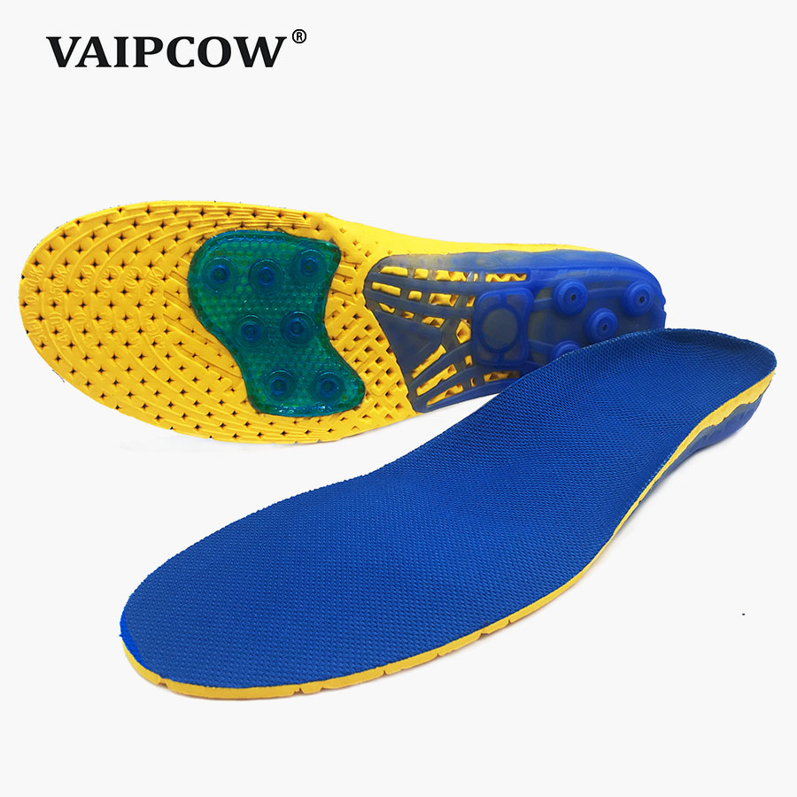 Unisex Insoles For Shoes Super Shock Absorbant Spring Sports Insole Foot Pain Relieve Shoe Insole For Men and Women Shoe Pad