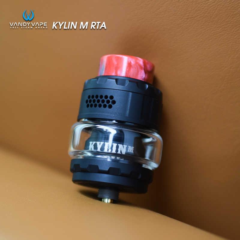 in stock Original Vandy Vape Kylin M RTA Tank Adjustable 3ml /4.5ml Capacity Electronic Cigarette Atomizer