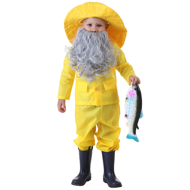 Distinctive Toddler Fisherman Halloween Costume Story  The Old Man and the Sea  Character Dressing  sc 1 st  AliExpress.com & Distinctive Toddler Fisherman Halloween Costume Story